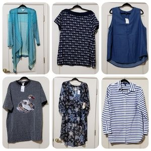 Bundle of 6 XL new with tags